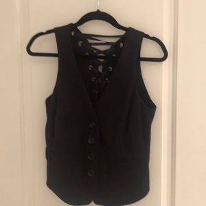 Black INC vest